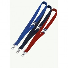 10 Cordoncini Portabadge 20Mm Blu Durable