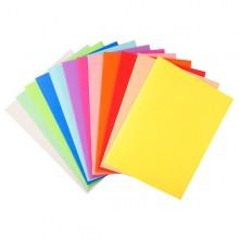 100 Cartelline Semplici 220Gr 24X32Cm Mix 5 Colori Foldyne