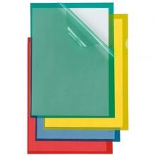 25 Cartelline A L 21X29,7 Verde Poli 150 Color Ppl B.A. Sei