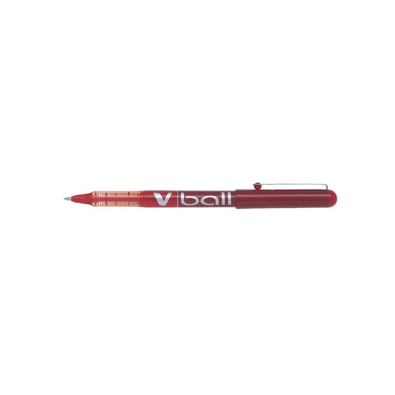 Roller V-Ball Rosso 0.5Mm Pilot