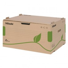 Scatola Container Ecobox 340X439X259Mm Apertura Laterale Esselte (conf.10)