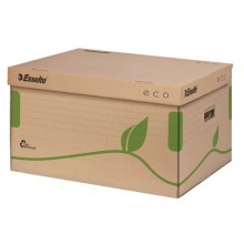 Scatola Container Ecobox 340X439X259Mm Apertura Superiore Esselte (conf.10)