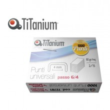 SCATOLA 1000 PUNTI UNIVERSALI TiTanium 6/4 (conf. 10 )