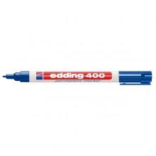 Marcatore permanente EDDING 400 punta conica blu (conf. 10 )