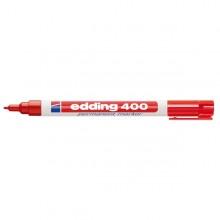 Marcatore permanente EDDING 400 punta conica rosso (conf. 10 )