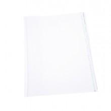 COPRILIBRO GIGANTE LISCIO NEUTRO TRASPARENTE 57x36cm C/ADESIVO RI.PLAST (conf. 25 )