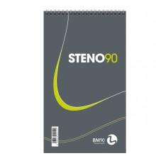 Blocco Spiralato Steno90 130X225Mm 90Gr 60Fg Bm (conf.5)
