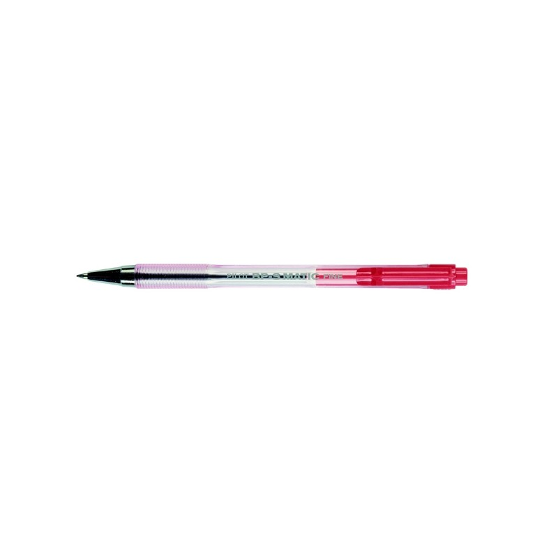 PENNA SFERA SCATTO BP-S MATIC ROSSO FINE 0.7MM PILOT (conf. 12 )