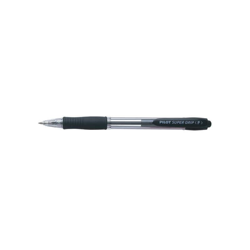 PENNA SFERA SCATTO SUPER GRIP NERO FINE 0.7MM PILOT (conf. 12 )