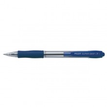 PENNA SFERA SCATTO SUPER GRIP BLU FINE 0.7MM PILOT (conf. 12 )