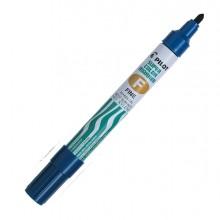Marcatore Super Color Permanent Punta Fine Blu Pilot