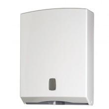 Distributore Asciugamani Piegati Bianco Basic 500Fg