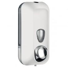 Dispenser Sapone Liquido 0,55Lt Bianco Soft Touch