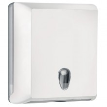 Dispenser Asciugamani Piegati Bianco Soft Touch