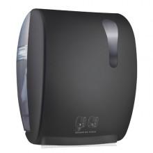 Dispenser Asciugamani Elettronico 875 Kompatto Advan Nero Soft Touch