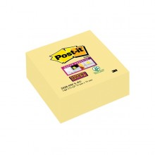 Cubo 270Foglietti Post-ItSuper Sticky Giallo Canary 76X76Mm 2028-Sscy-Eu