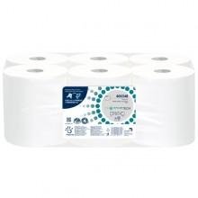 Rotolo asciugamani Autocut Microgoffrato 2veli Ø18,5cm DissolveTech Papernet (conf. 6 )