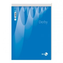 BLOCCO NOTE DERBY 80x120mm 70fg 60gr PM 5mm BM (conf. 10 )