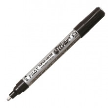Marcatore Super Color Punta Media Vernice Silver Pilot