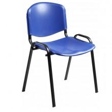 Sedia Attesa Dado D5Sp Blu Senza Braccioli