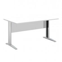 Scrivania Lineare 140X80Cm Bianco - Easy Metal
