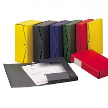 Scatola archivio PROJECT 15 rosso 25x35cm dorso 15cm KING MEC (conf. 5 )