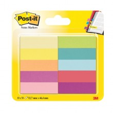 Segnapagina Post-It 670-10Ab-Eu 500Fg In 10Colori Index 12,7X44Mm In Carta