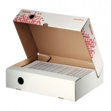 Scatola Archivio Speedbox Dorso 80Mm 35X25X8Cm Apertura Totale Esselte (conf.25)