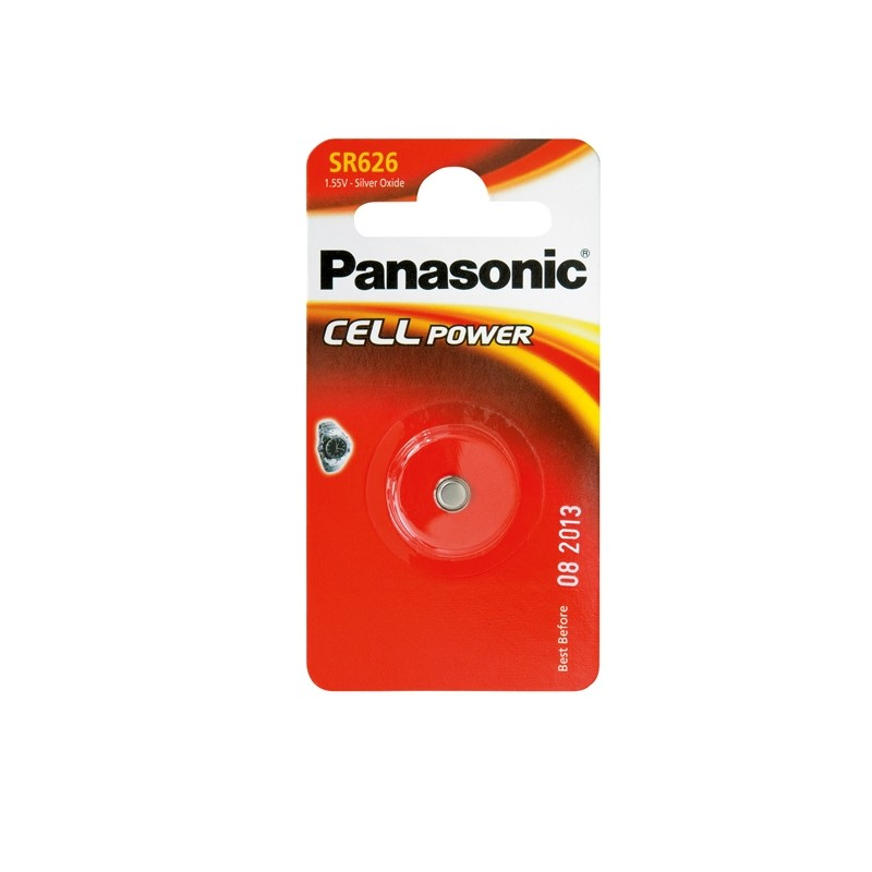 Blister Micropila Ossido Argento Sr626 Panasonic