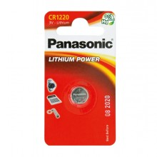 Blister Micropila Litio Cr1220 Panasonic