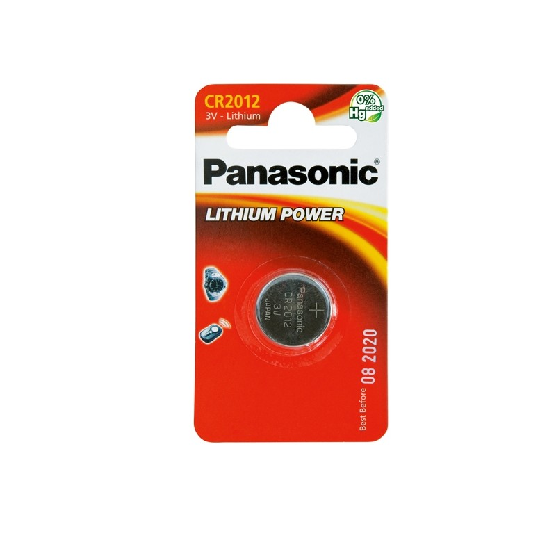 Blister Micropila Litio Cr2012 Panasonic