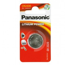 Blister Micropila Litio Cr2430 Panasonic