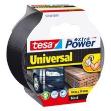 Nastro Adesivo 10Mtx50Mm Nero Tesa Extra Power Universal