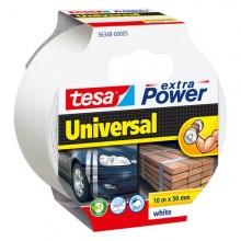 Nastro Adesivo 10Mtx50Mm Bianco Tesa Extra Power Universal