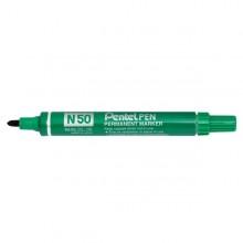Marcatore Pentel Pen N50 Verde P.Tonda