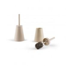 Portascopino Potter In Plastica Bianco