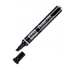 Marcatore Pentel Pen N60 Nero P.Scalpello