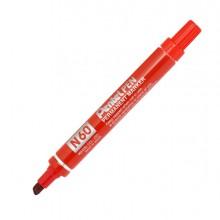 Marcatore Pentel Pen N60 Rosso P.Scalpello