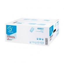 Pacco 250 asciugamani piegati a V goffrato a onda Ecolabel Papernet (conf. 15 )