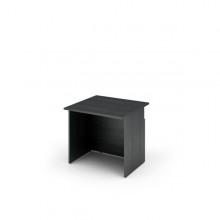 Modulo Reception Disabili S/Sopralzo 80X97,5X72Cm Nero Ven. /Bianco - Prestige