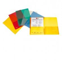 Cartellina Con Tasche Full Trasparente 21X29.7Cm (conf.5)