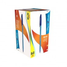 Special Pack 80+20Penna Sfera Inkjoy 100 Blu 1.0Mm Papermate