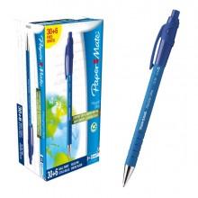 Special Pack 30+ 6 Penna Sfera Scatto Flexgrip Ultra 1.0 Blu Papermate